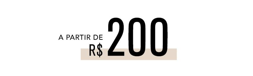 A partir de 200