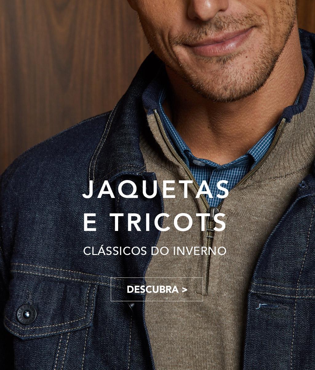 Jaquetas e Tricots